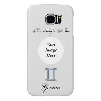 Gemini Zodiac Symbol Element Samsung Galaxy S6 Cases