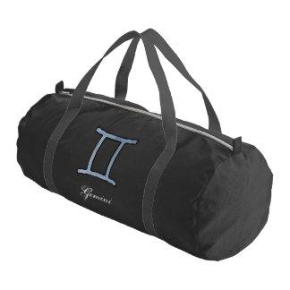 Gemini Zodiac Symbol Element Gym Duffel Bag
