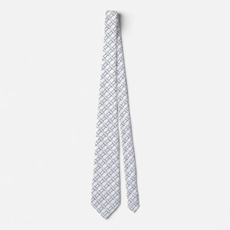 Gemini Zodiac Symbol Element Neck Tie