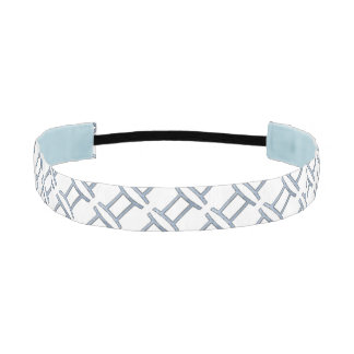 Gemini Zodiac Symbol Element Athletic Headbands