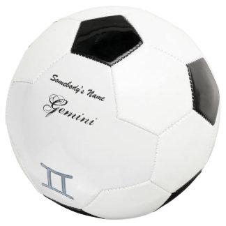 Gemini Zodiac Symbol Element Soccer Ball