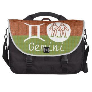 GEMINI -  ZODIAC Symbol Laptop Bags