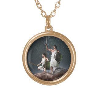 Gemini Zodiac Symbol Necklaces