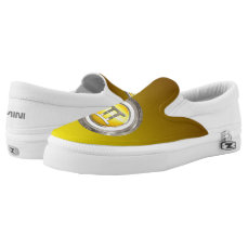 Gemini Zodiac Symbol Slip-On Sneakers