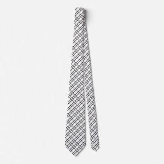 Gemini Zodiac Symbol Standard Tie