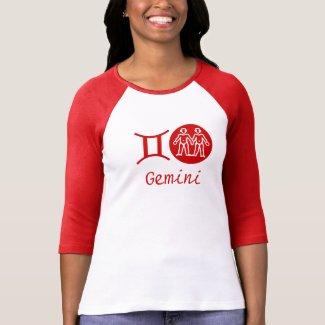 GEMINI - ZODIAC Symbol Tee Shirts