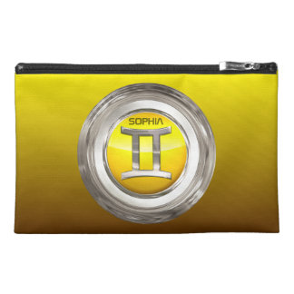 Gemini Zodiac Symbol Travel Accessory Bag