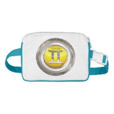 Gemini Zodiac Symbol Waist Bag