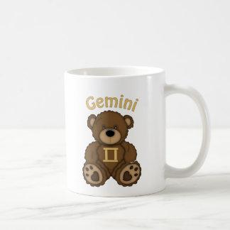 Gemini Zodiac Teddy Bear Coffee Mug