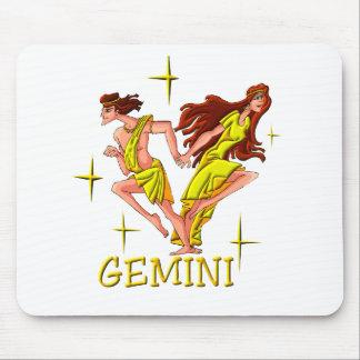 Géminis 3 (estrellas) tapete de ratones