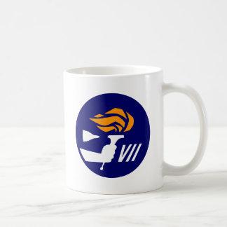 Géminis 7 tazas de café