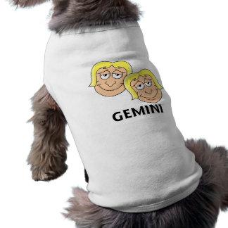 Géminis Camisa De Perrito