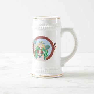 Géminis célticos tazas de café