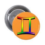 Géminis de GLBT Pins