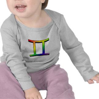 Géminis de GLBT Camisetas