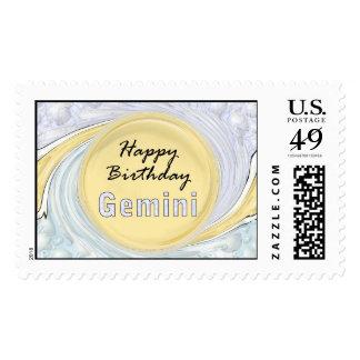 Géminis del feliz cumpleaños envio