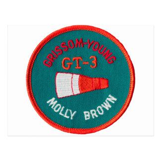 Géminis del proyecto:  GT 3: Grissom/jóvenes Tarjetas Postales
