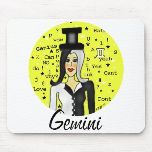 Géminis Mouse Pad