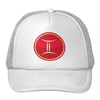 Géminis - muestras del zodiaco gorras de camionero