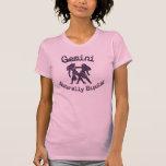 Géminis:  Naturalmente bipolar Camisetas