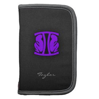 Géminis púrpuras violetas planificadores