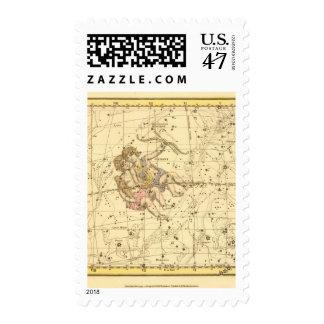 Géminis Sello Postal