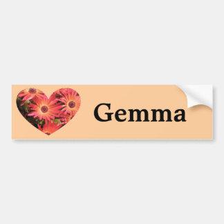 Gemma Bumper Sticker