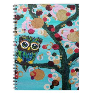 Gemmy Owl Note Books