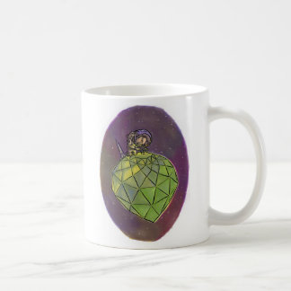 Gemologist del astronauta taza de café
