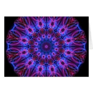 GemRings kaleidoscope Greeting Card