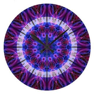 GemRings kaleidoscope Large Clock