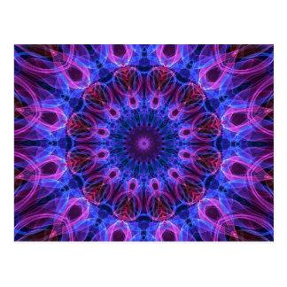 GemRings kaleidoscope Postcard