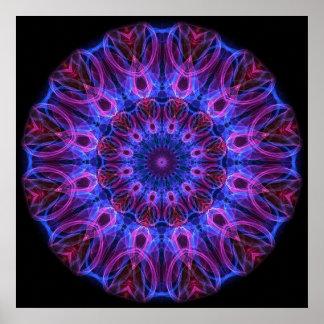 GemRings kaleidoscope Posters
