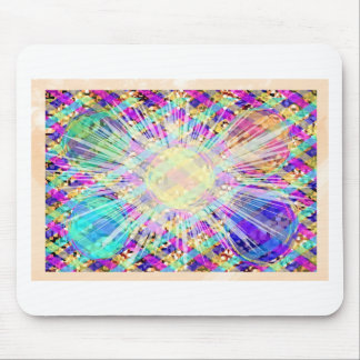 Gems, Jewels, Flower n Healing Stones Mouse Pad