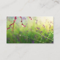 Gems of a Spring Morning Bookmarks Business Card