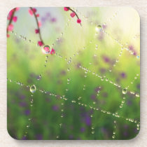 Gems of a Spring Morning Cork Coasters