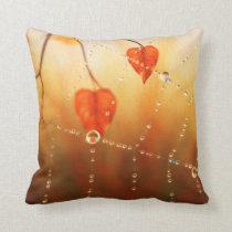 Gems of an Autumn Morning Pillow