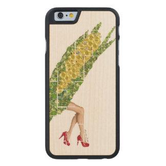Gems of Corn Carved Maple iPhone 6 Slim Case