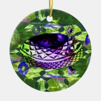 Gems of Hope Surface Ceramic Ornament