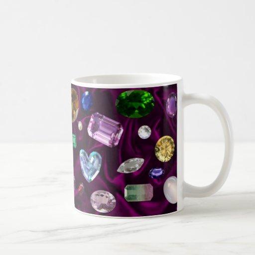 Gems On Velvet Mugs