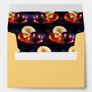 Gems pattern envelope