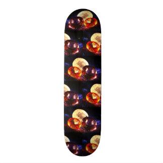 Gems pattern skateboards