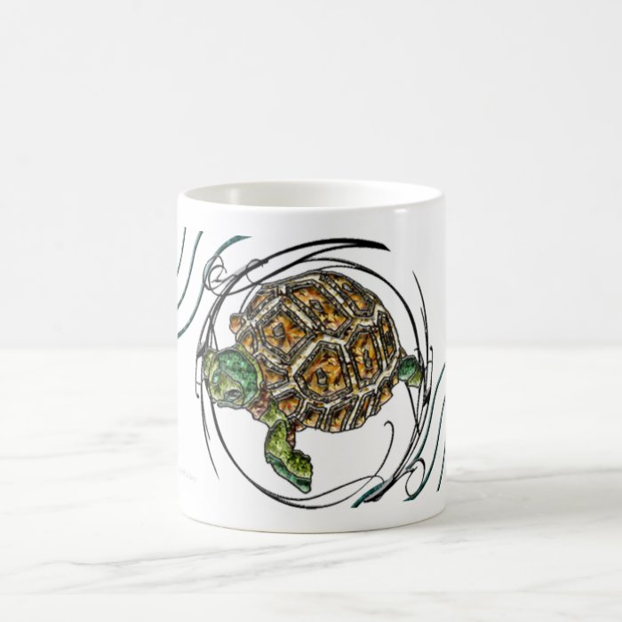 Gems Turtle Coffee Mug