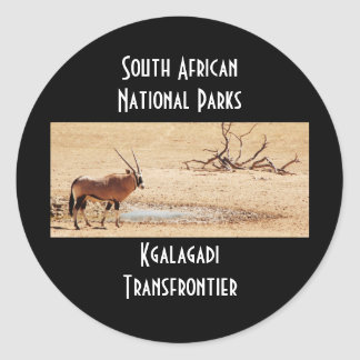 Gemsbok South African National Parks stickers