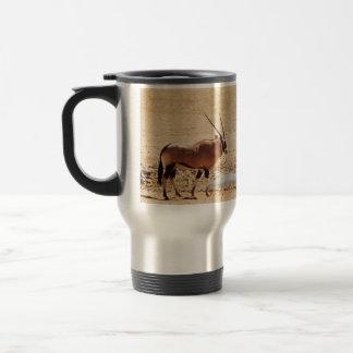 Gemsbok travel commuter wildlife safari mugs & cup