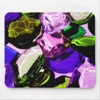 gemstone abstract mouse pad