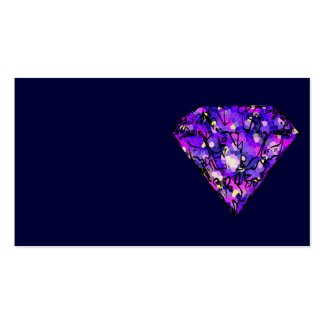 gemstone business card template