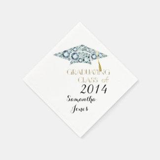 Gemstone Class of 2014 Graduate Party Napkins Paper Napkin