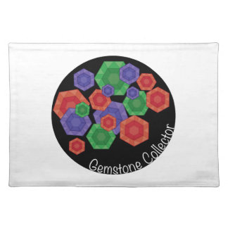 Gemstone Collector Placemat