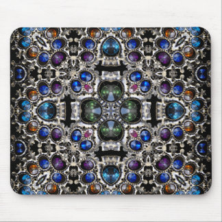 Gemstone Cross Mouse Pad